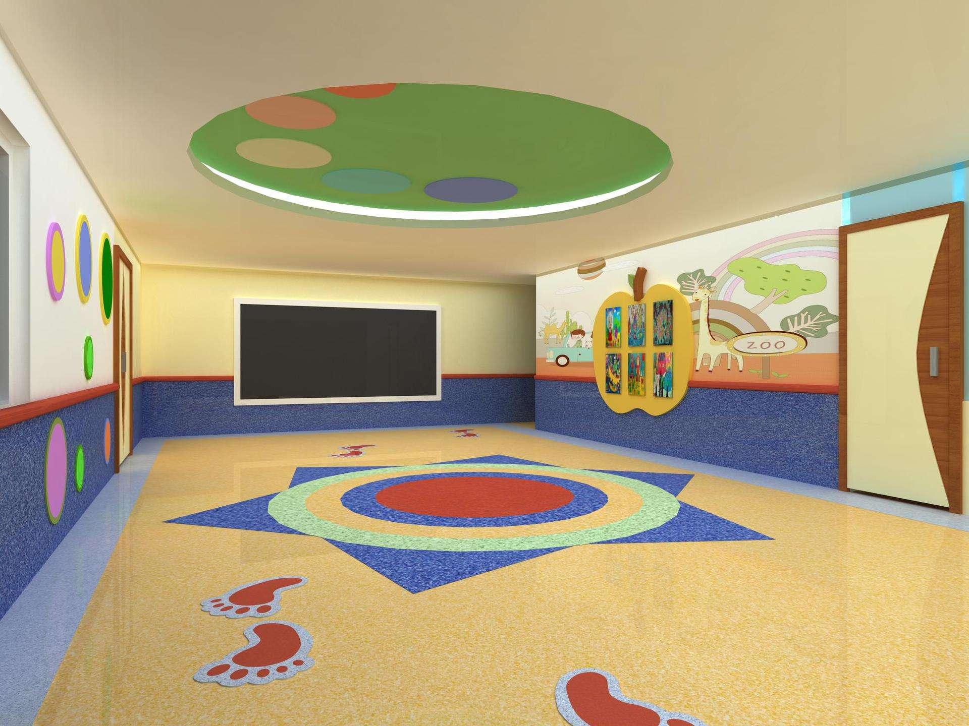 橡胶地板案例展示